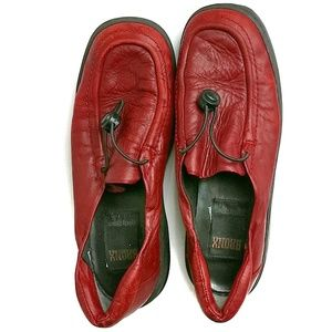 Bronx Shoes - Bronx Leather Loafers Size 38 By DijkManis